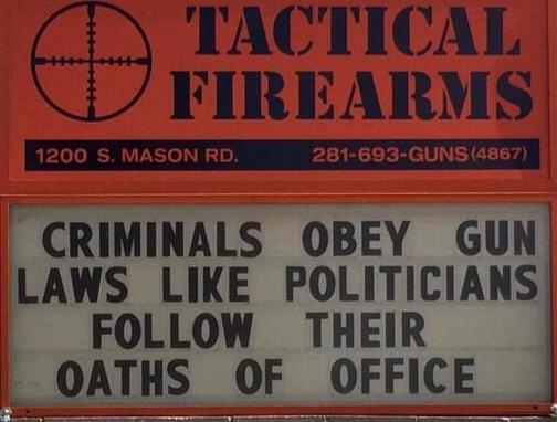Another one for your collection...this Gun Store Owner is getting good at this! http://t.co/wawwjdnwCw