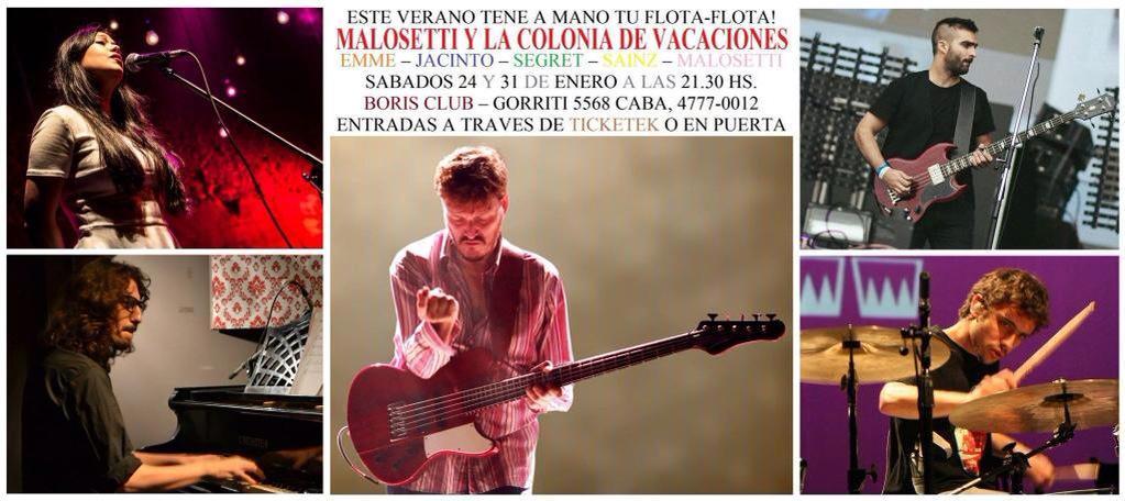 Hoy!! Fiesta en Boris!! @javiermalosetti & La CDV!!! @hernanjacinto @Hernansegret @tomy_sainz & @emmedemariela 9:30pm http://t.co/JIiO64nLBa