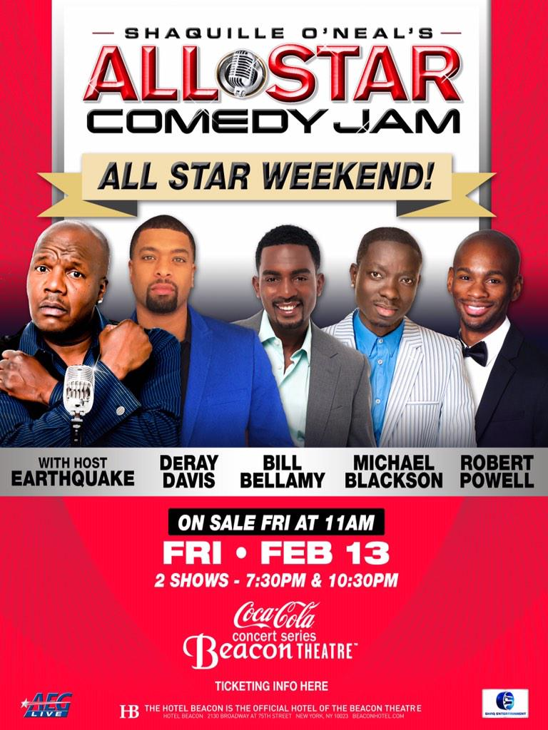 """@LAPRChick: Where are all the all star events? #NBA #AllStar2015 #nyc"" @ShaqAllStarTour http://t.co/XOjvyXUwb3"