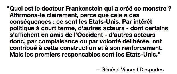 Qui a créé #Daech ? Réponse du Général Vincent Desportes, auditionné au #Sénat http://t.co/KAkzYTppy7 http://t.co/TsHq0TZ2r3