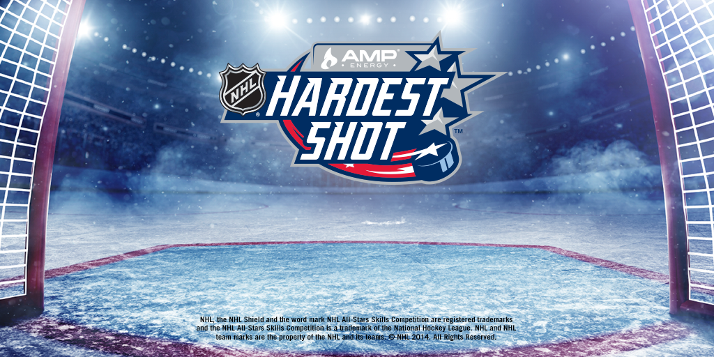 Who do you think has the energy to win the AMP @NHL Hardest Shot™ at the NHL® All-Star Skills Competition tonight? http://t.co/Y0HdjyS2jZ