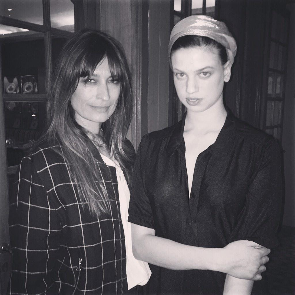 RT @Stylebop: Spotted at @filleilamignon & #SaifMahdhi's dinner at #CaviarKaspia: beauties @Carodemaigret & #LilyMcMenamy http://t.co/x9wIl…