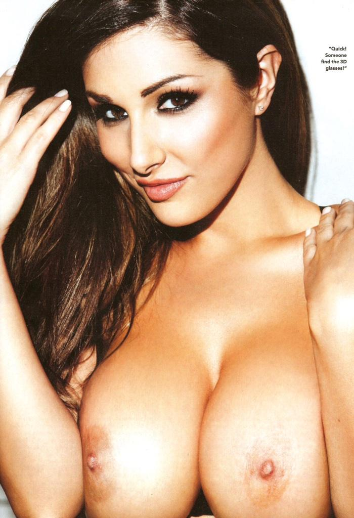 Brunette Hot Babe Lucy Pinder In Artistic Nude Style Nsfwonsnap 1
