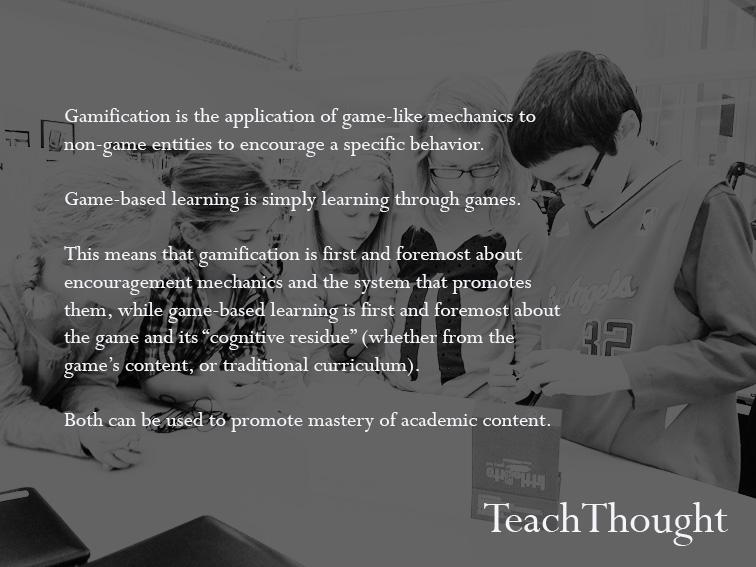 """@urban_teacher: The Difference Between Gamification And Game-Based Learning by @TeachThought   #aussieED http://t.co/UHlaGgcD6n"""