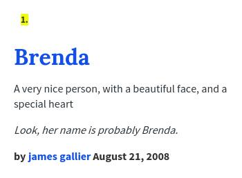 Urban dictionary on twitter 7eventeen brenda a very for Special urban dictionary