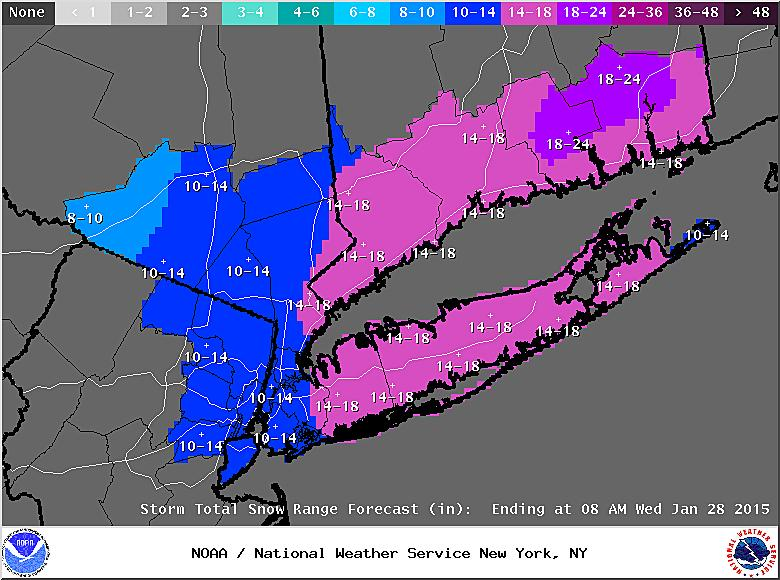 #Breaking: Blizzard forecast for Monday night, Tuesday morning http://t.co/Hel1CdzhhJ #ctweather http://t.co/RbESeh9MZP