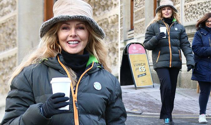 Well I am!  RT @Daily_Express 'Ooh so excited' @carolvorders tweets cryptic message after walk http://t.co/LQEcyuvERA http://t.co/A7D1zqmLiv
