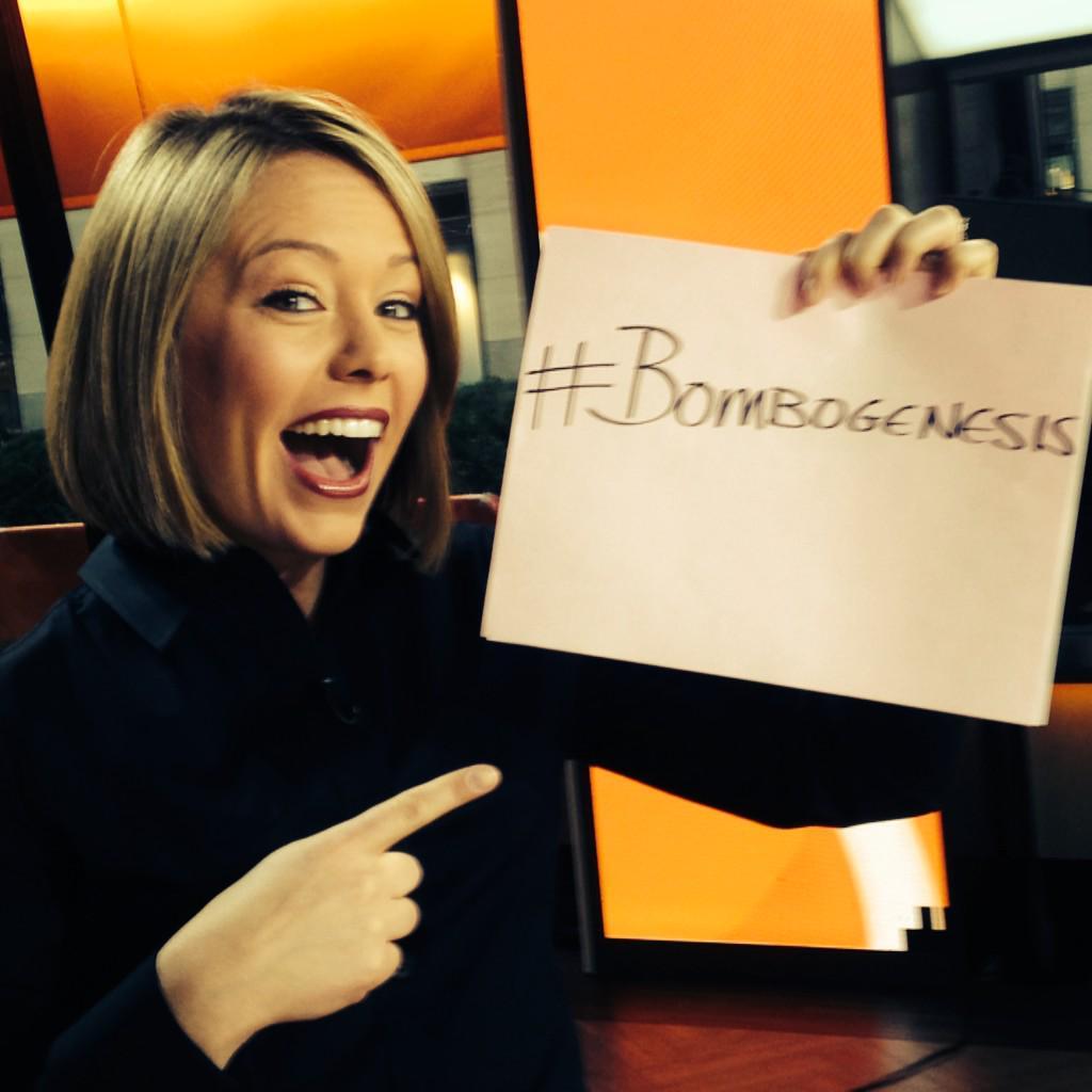 My new favorite term: #BomboGenesis Thanks, .@DylanDreyerNBC http://t.co/hTsPqQzozW