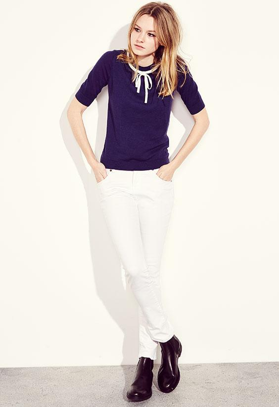 RT @JackWills: #JWOutfitsofnote give a pretty knit a twist with classic white skinny jeans & a Chelsea boot. http://t.co/87FJCTVtit http://…