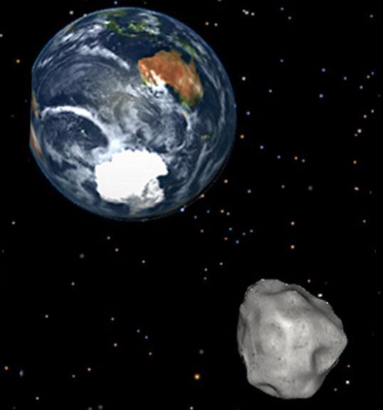 Guarda l'asteroide 2004 BL86 (sasso cosmico da record) con Slooh-NASA