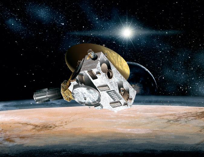 Wait for It: New Horizons Probe Snaps Pictures of Pluto