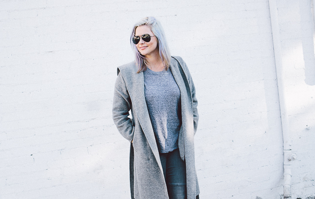Street style tip of the day: Grey matters http://t.co/Pdck4qnTjD #streetstyle http://t.co/S47BKMxxmW