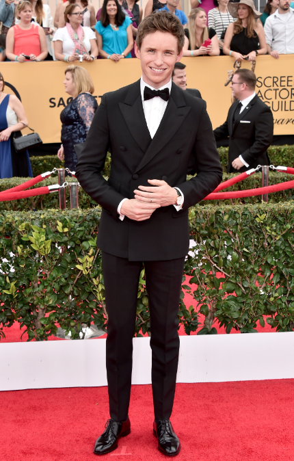 Eddie Redmayne looking incredibly dapper at the #SAGawards http://t.co/3wKrAPx799