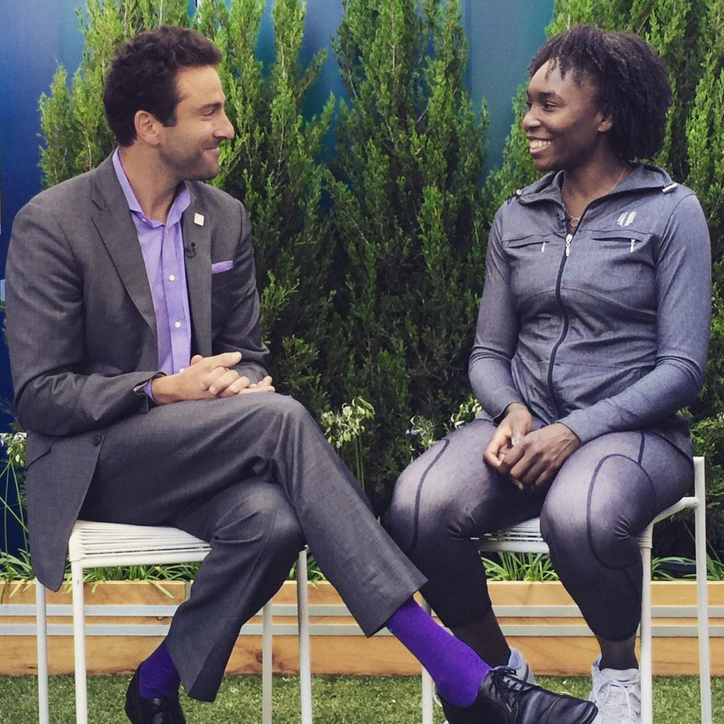 Always a pleasure to reunite with my former partner @Venuseswilliams Thanks 4 carrying me back in 1998! http://t.co/jwyOQEyVMM
