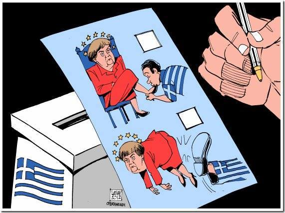 Anti-bailout party poised to win Greece election B8OgiHHIQAAMhss