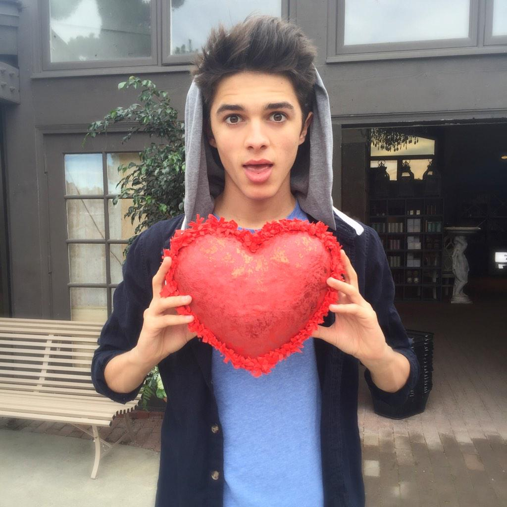 "Brent Rivera on Twitter: ""I have a big heart 😊 ️😂 http://t ..."