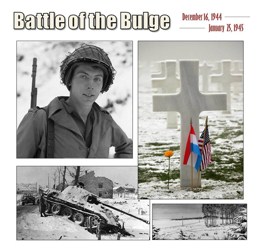 #OnThisDay in 1945, #BattleOfTheBulge ends. @USArmy defeats more than quarter million Hitler troops.  #Respect #Honor http://t.co/uc7jNDuthC