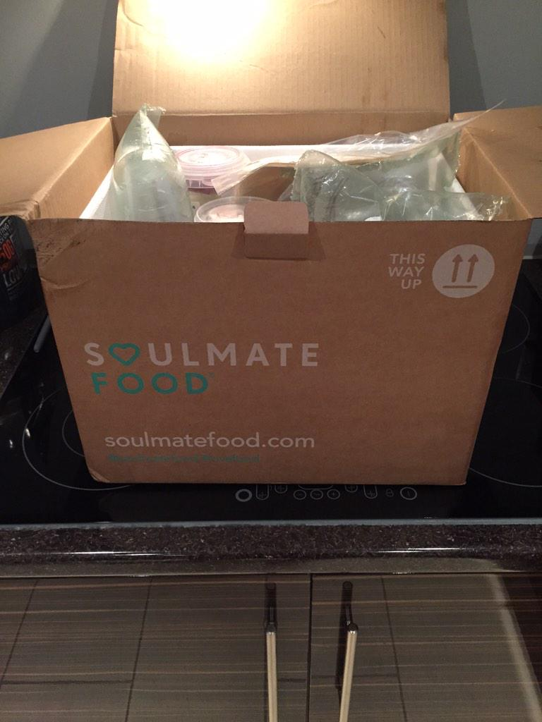 Just got my delivery in boys!! #GymDiet 💪 @MarkWright_ @Joshwright4 thanks @Soulmatefood for prompt service http://t.co/que9jTSe2r