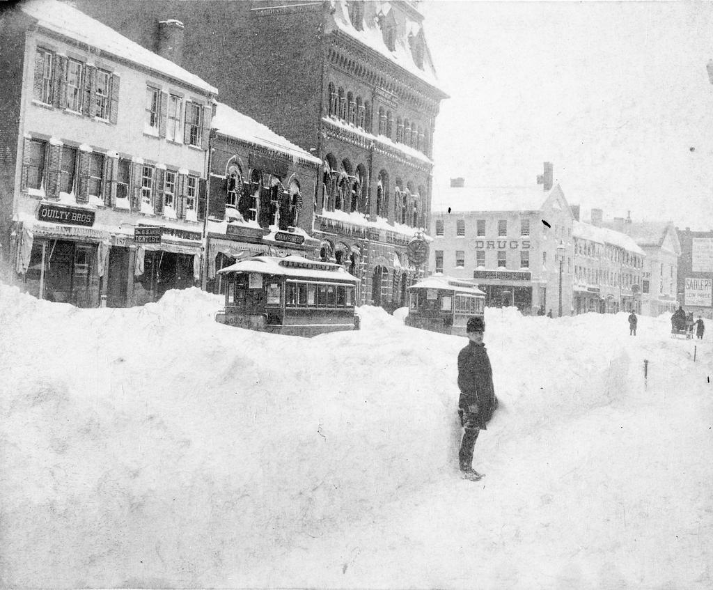 Great Blizzard of 1888, Greater New York