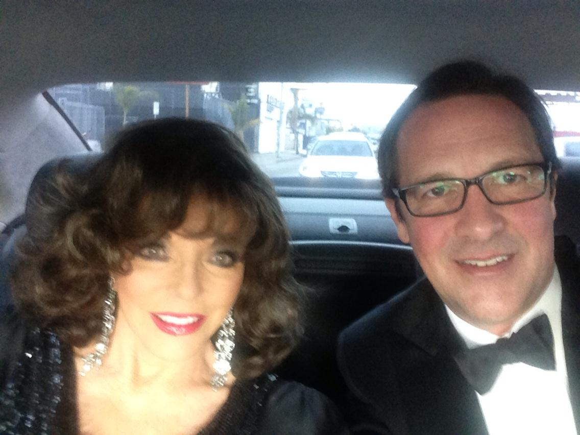 On our way to the @SAGawards...in the middle of the afternoon! http://t.co/YxBnzxBopp