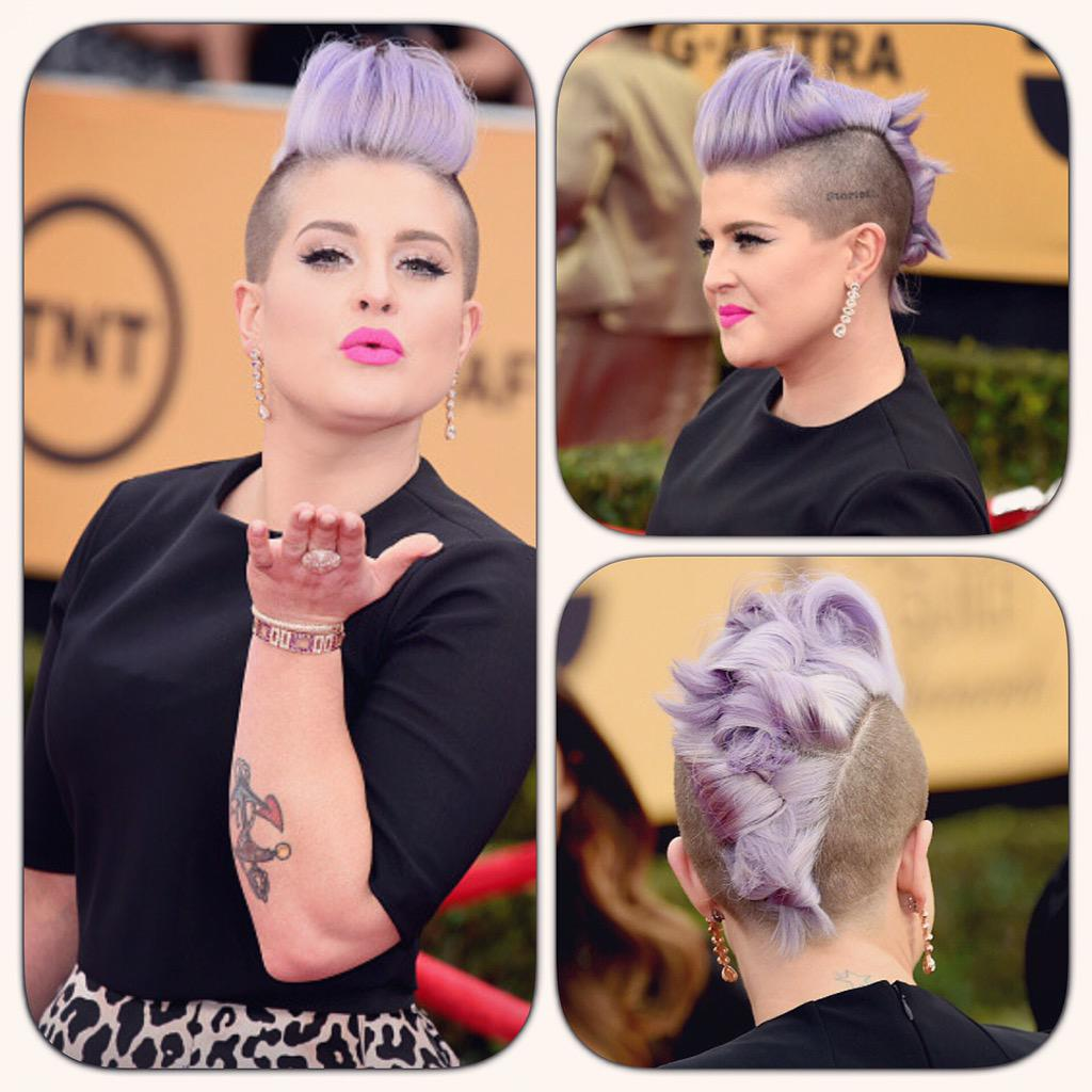 RT @itsryanrandall: The definition of edgy, red carpet perfection you ask...@kellyosbourne! #hairbyme using @matrixfamily #redcarpet #SAG h…