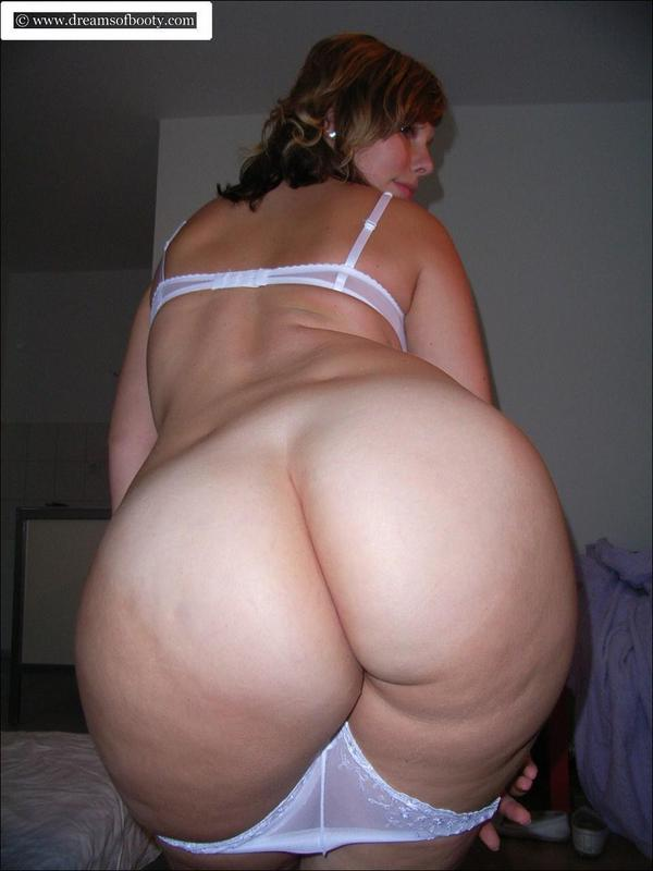 Amateur booty chubby white fuck