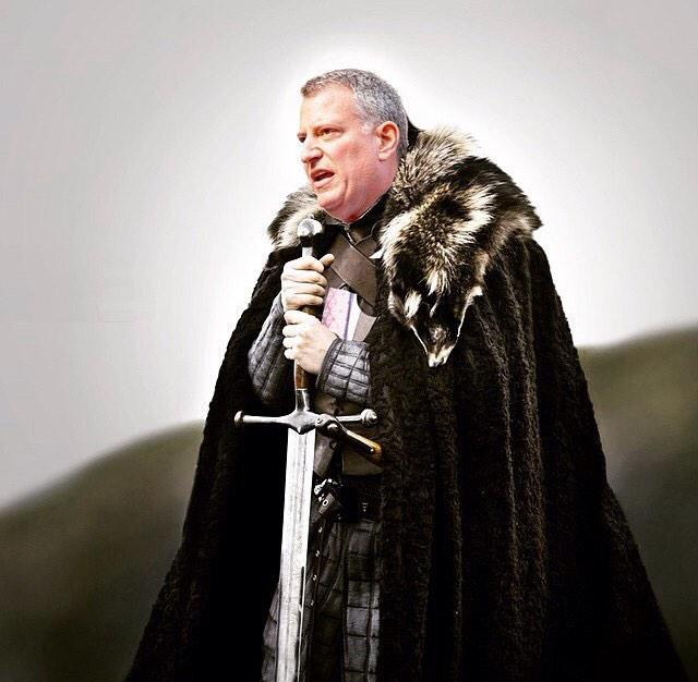 WINTER IS COMING - @BilldeBlasio (h/t @jeffreysellers) http://t.co/omQ3eBRTph