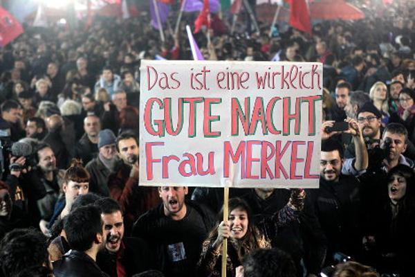 Greek election victors mock German Chancellor