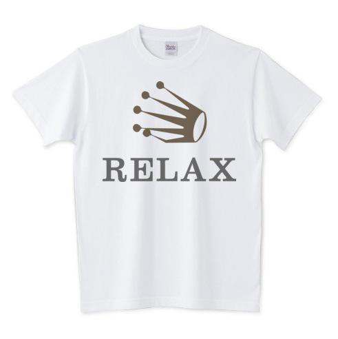 test ツイッターメディア - ロレックスがリラックスするとRELAXになります。 https://t.co/BqsHPKD2io https://t.co/47G5vw5wgk #Tシャツ #時計 #ロレックス #ロゴ #パロディ