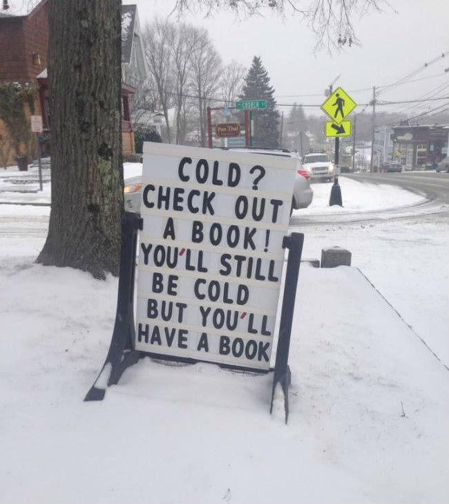 Very apt, today -- keep warm, all my East Coast friends! RT @VashtiLives: @nprbooks http://t.co/kGPbROIy29