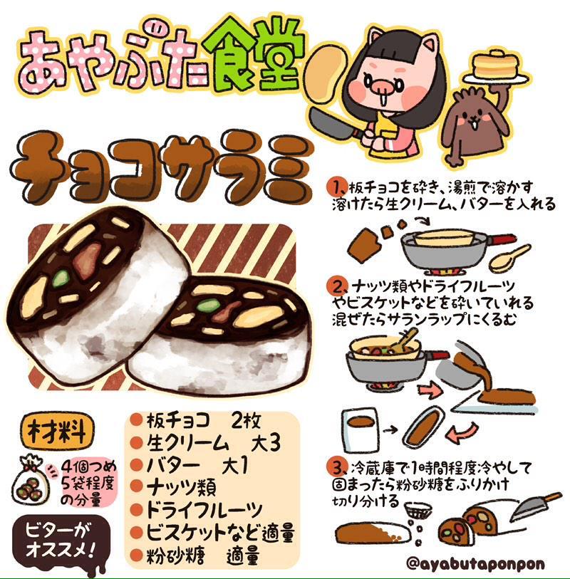 サラミ チョコ