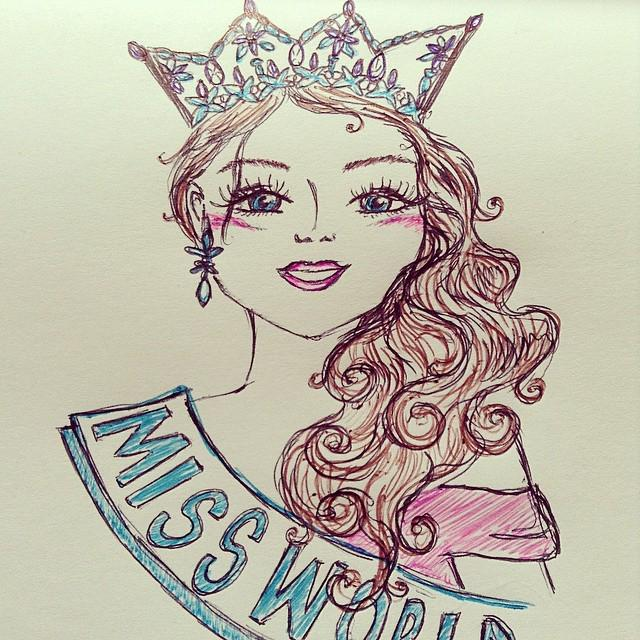 The Official Thread of Miss World 2014 ® Rolene Strauss- South Africa - Page 6 B8R1x7lIgAAsS5L