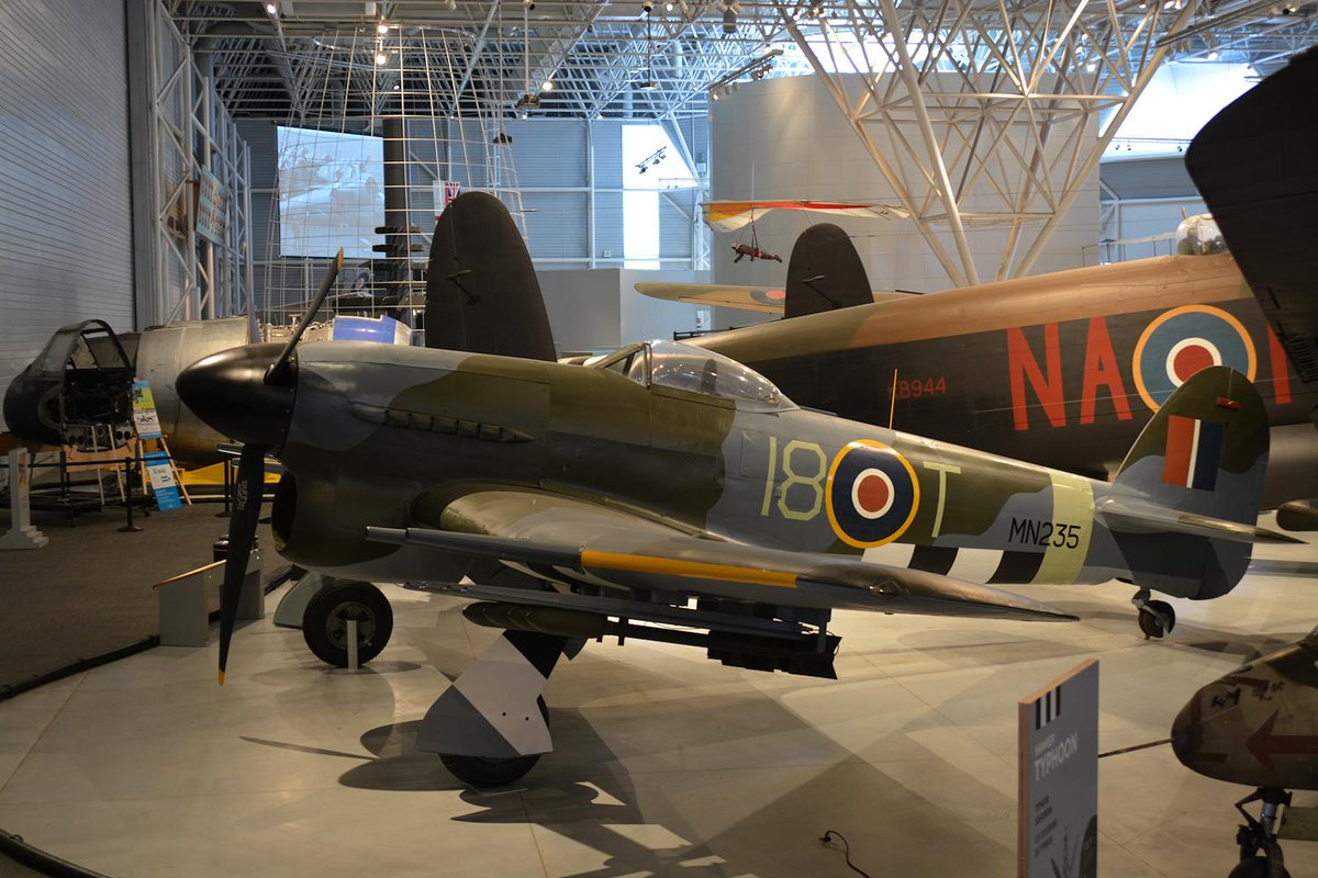 Andrew semon on twitter hawker typhoon mn235 on display at casm andrew semon on twitter hawker typhoon mn235 on display at casm partially repainted to represent an aircraft of 440 city of ottawa sqn thecheapjerseys Choice Image