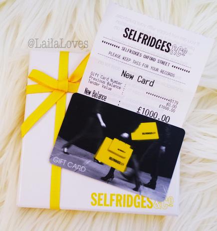654081ea98  WIN £1000 SELFRIDGES GIFT CARD! VISIT MY BLOG TO FIND OUT HOW TO ENTER   http   lailaloves.co.uk 1000-selfridges-giveaway  …