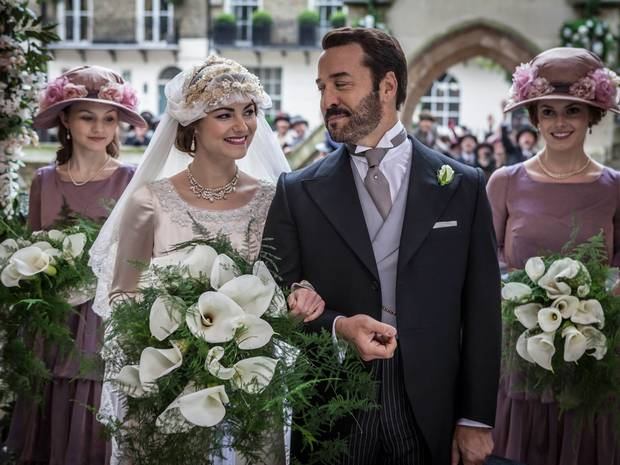 Yesterday #MrSelfridge returned for its third series with an extravagant wedding, the show brought in 3.4m viewers http://t.co/8lrgyw5Mjp