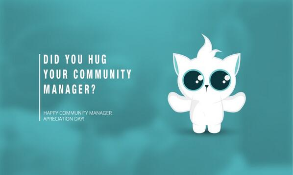 It's Community Manager Appreciation Day! Created in 2010 by @jowyang: http://t.co/MxfpkGgsFK via @objetivarte #CMAD http://t.co/wmRRdvZhNK