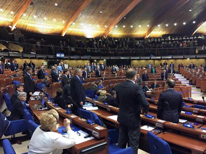 ПАСЕ обжаловала полномочия российской делегации - Цензор.НЕТ 7120