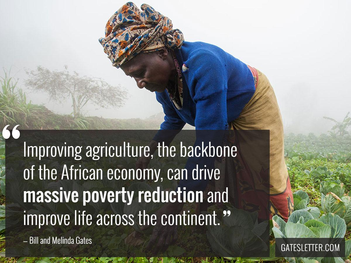 Our big bet for 2030 is on improved access to food through school feeding, beyond increasing production. #GatesLetter http://t.co/cXHT1a9xbs