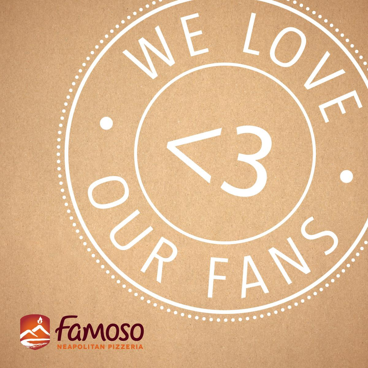 We love sharing the #famosolove with you. RT to share it with your friends too. Win a $25 GC: https://t.co/ZEyaPuJ4bY http://t.co/Ql3S9T6TyW
