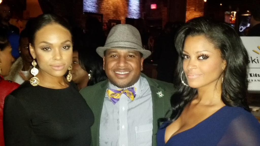 Our CEO with the #flawless @claudiajordan @demimckinney #twintowers http://t.co/6vEJvoq9Nz