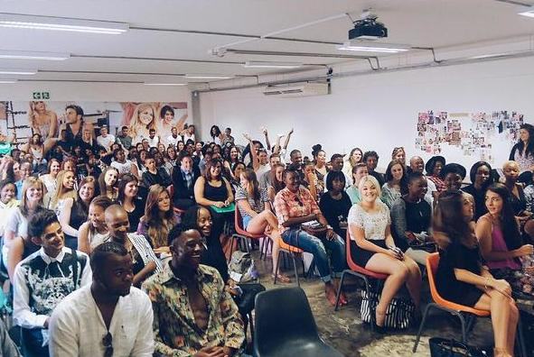 An epic start to a journey into fashion. #lovefashion with guest speakers @NicolaCoop, @RomanHandt and @suzaanheyns http://t.co/7rPCIckRT8
