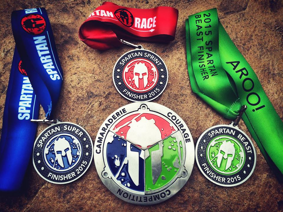 "Spartan Race on Twitter: ""Earn your Trifecta this weekend ..."