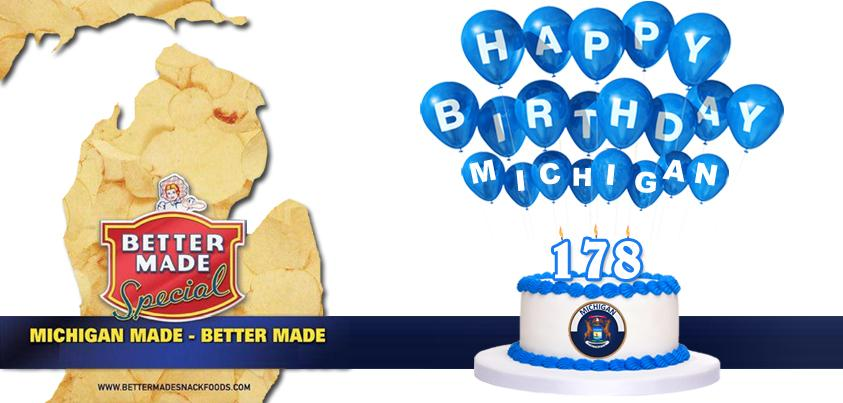 178 years ago today, Michigan became the 26th State to enter the union. Happy Birthday! http://t.co/9u4K8Z6HGC