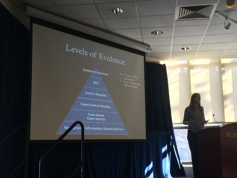 Levels of evidence #Mlibres http://t.co/MmL9sePMsu