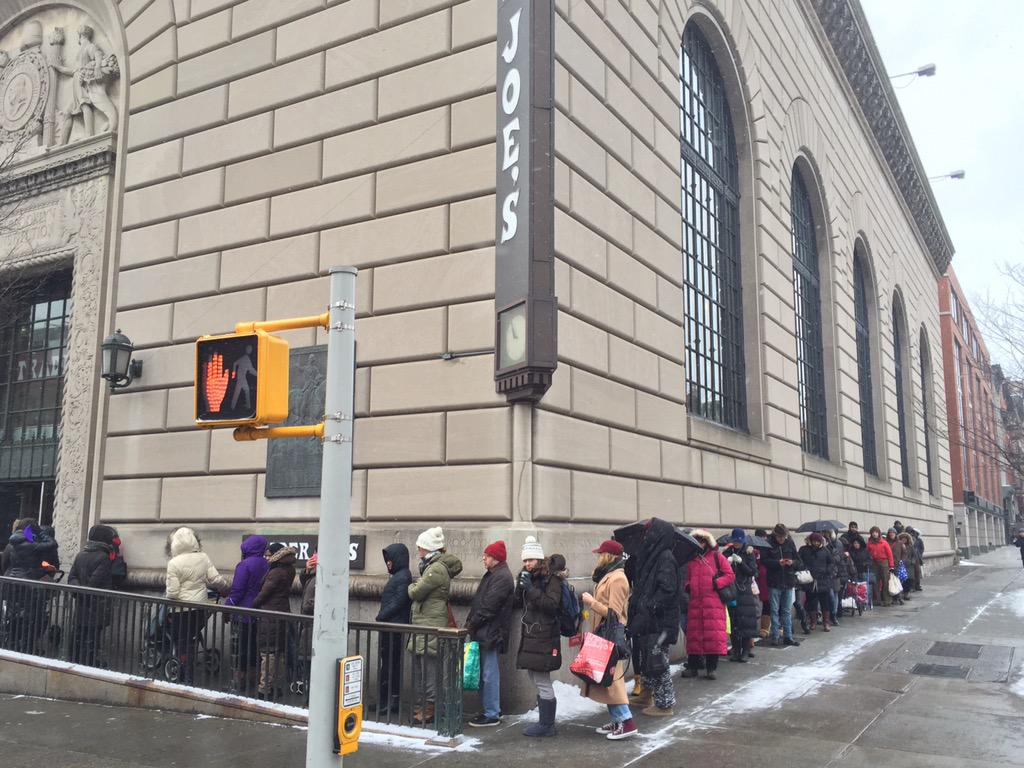 Trader Woes RT @LukeRatrayPhoto: @BrianLehrer @WNYC the line just to GET INTO Trader Joe's http://t.co/mdWA67XGFI