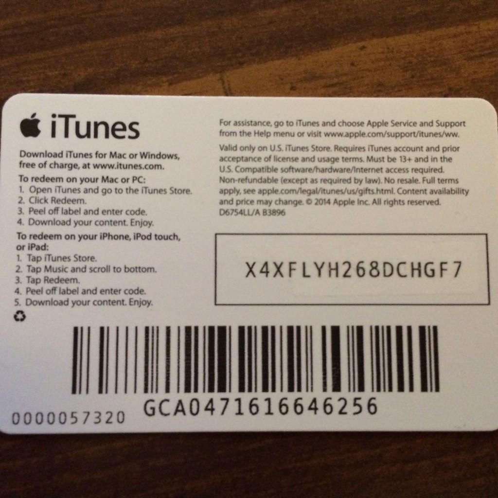 Itunes coupons