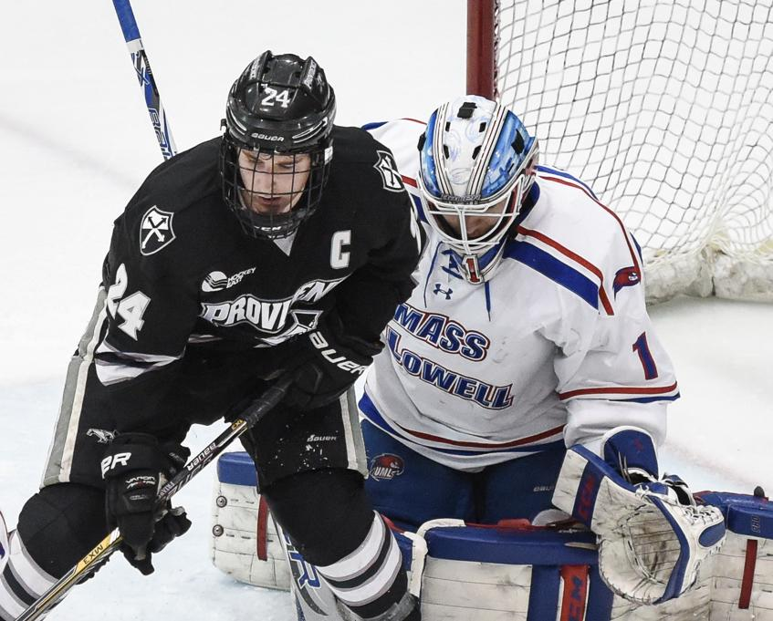 Hockey East: Providence College Growing Into Role Of Contender