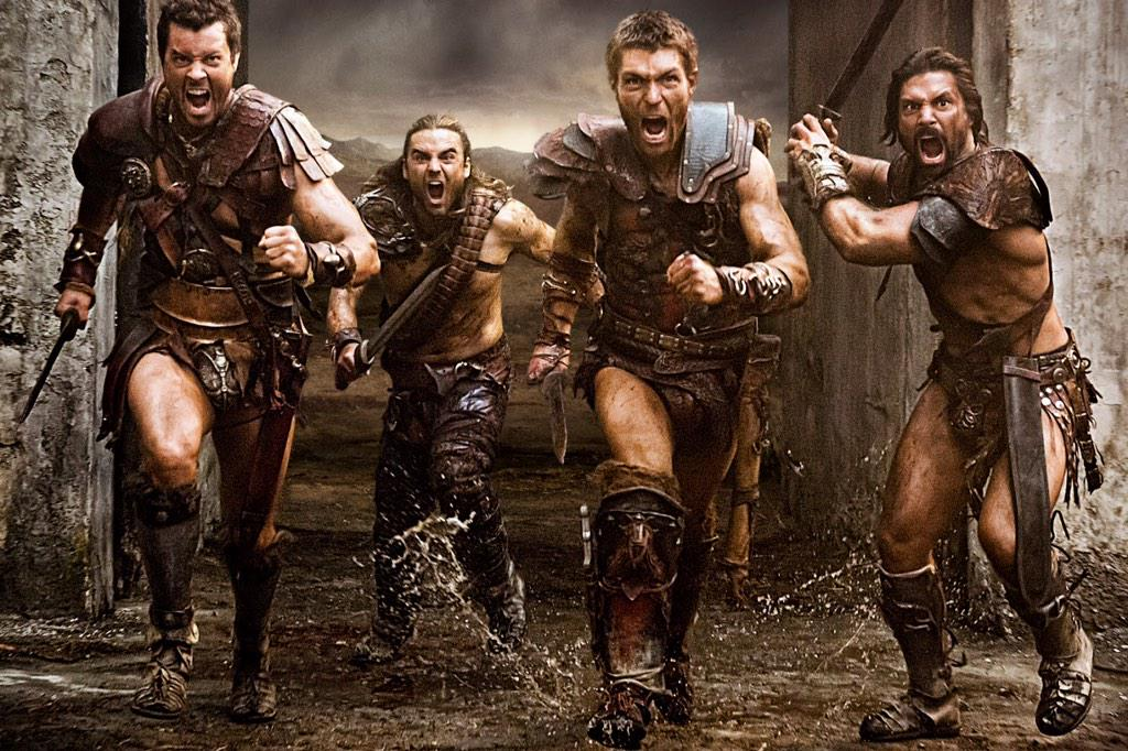 spartacus gladiators