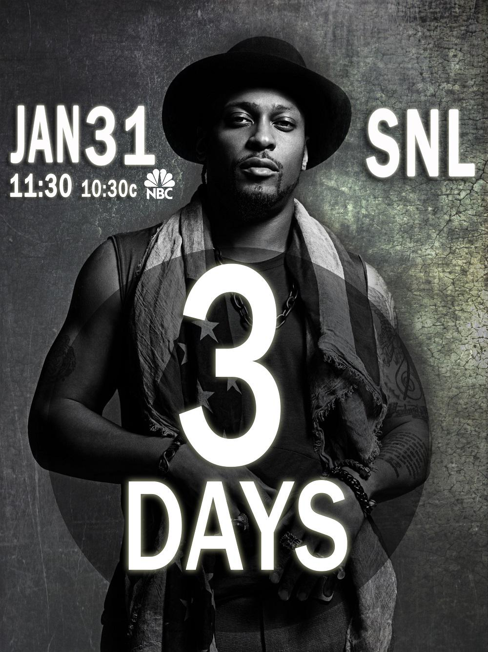 RT @TheDangelo: The revolution will be televised http://t.co/wxAt7IKJ9a