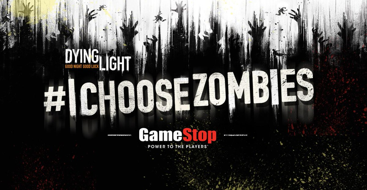 Make the right choice and survive. Pick up #DyingLight tonight! #IChooseZombies http://t.co/Fk4kBfGCum http://t.co/BN8ZNbBzWI
